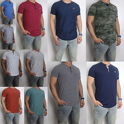 NWT HOLLISTER Must Have Texture Men T Shirt Tee By Abercrombie