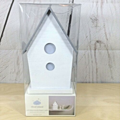 Cloud Island Led Bird House Nightlight Kids Baby Infant Nursery Timer