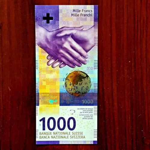 SWITZERLAND SWISS 1000 francs franken gem UNC.