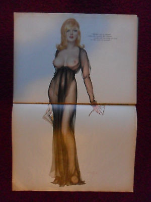 Alberto Vargas Sexy Girl Magazine Pin-Up Art Page ~ Mother was so Pleased