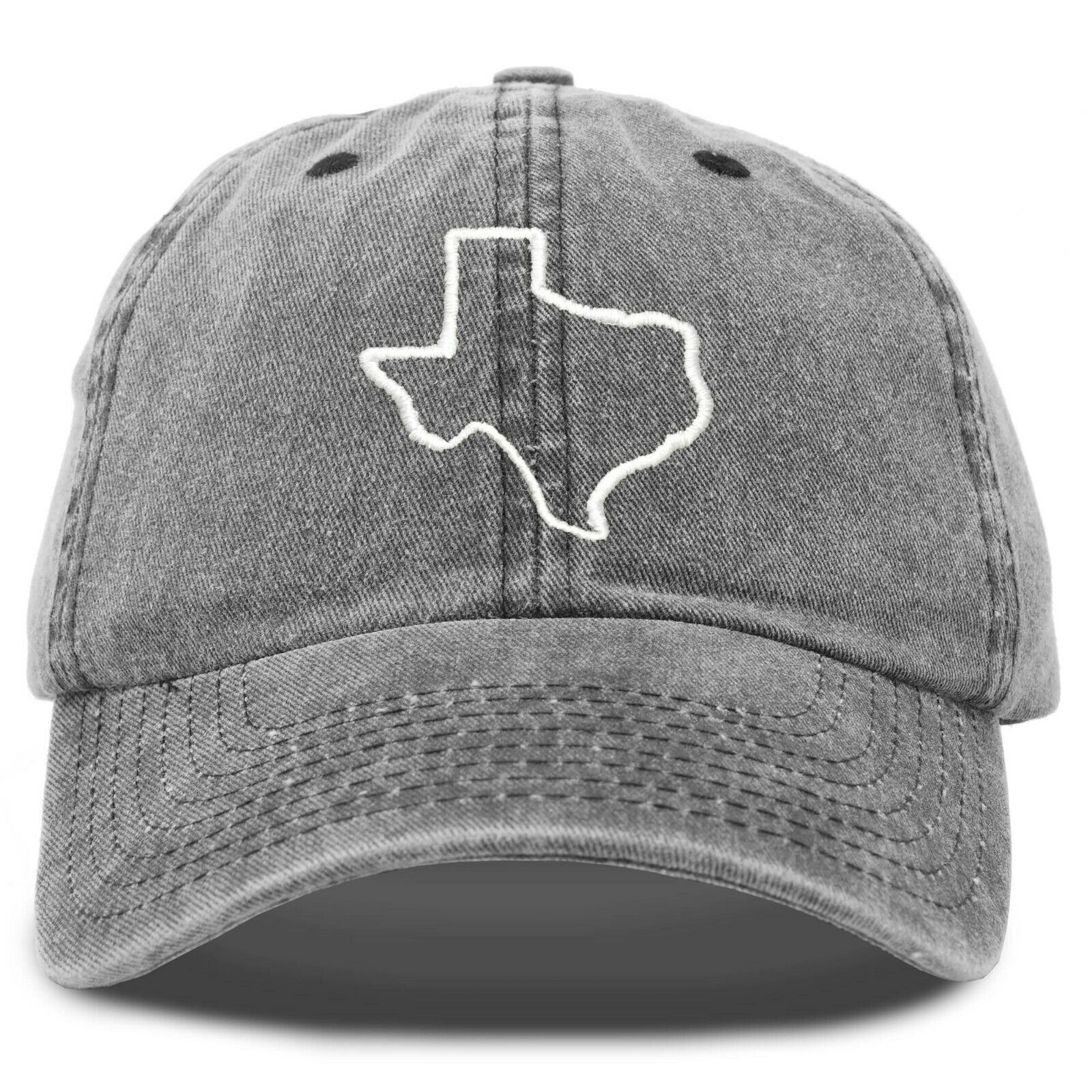 DALIX Texas Hat Lone Star State Mens Womens Baseball Cap Was