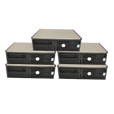 5 x Dell OptiPlex 380 Desktop PC Core 2 Duo 3.0GHz 8GB 500GB HD DVD-RW WiFi W10P comprar usado  Enviando para Brazil