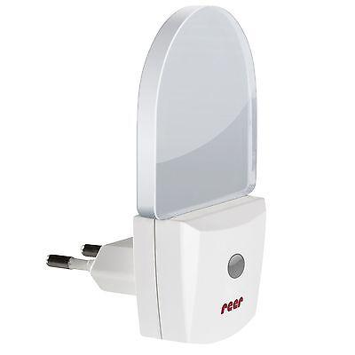 Reer LED Nachtlicht mit Sensor für die Steckdose, Schlaflicht, NEU, OVP