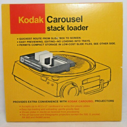 Kodak Carousel Stack Loader B40 CAT 151 4249 with Box for Slide Projector