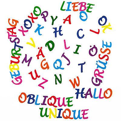 ABC Alphabet Sticker Buchstaben Aufkleber Kinder Lernen