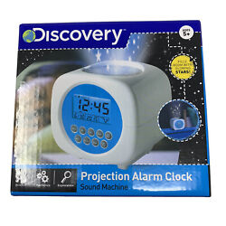 Discovery Kids Projection Alarm Clock Sounds Machine Stars Alarm Nature FREESHIP