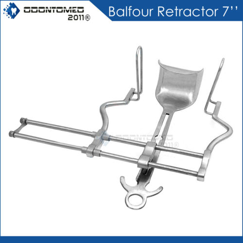"""Balfour Retractor 7"""" Gyno Tools Surgical Instruments"""