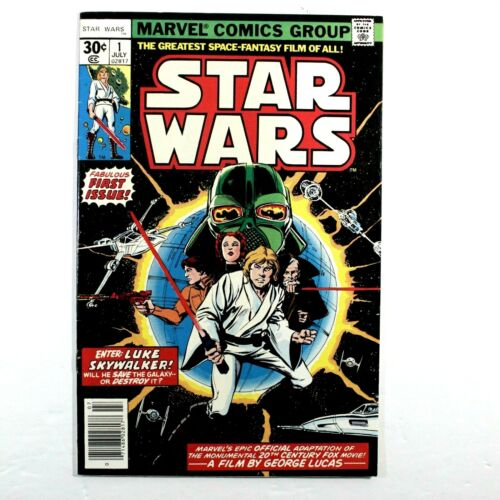 STAR WARS #1 1977 1ST SKYWALKER .