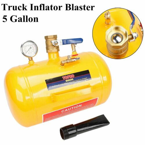 5 Gallon 145PSI Air Tire Bead Seater Blaster Tool Seating Inflator Truck ATV