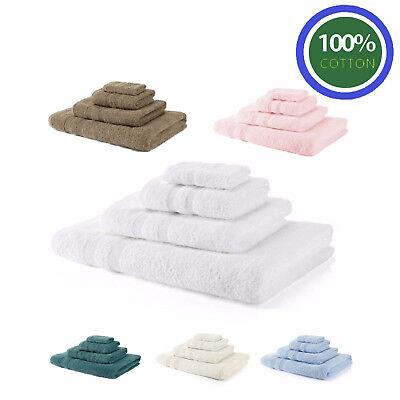 Royal Egyptian 100% Cotton Soft Face Hand Bath Towels Bath Sheet Bale Collection
