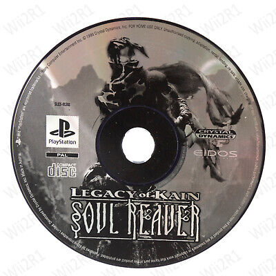 *DISC ONLY* Legacy of Kain: Soul Reaver for PS1 Undead Slayer *1ST CLASS POST*