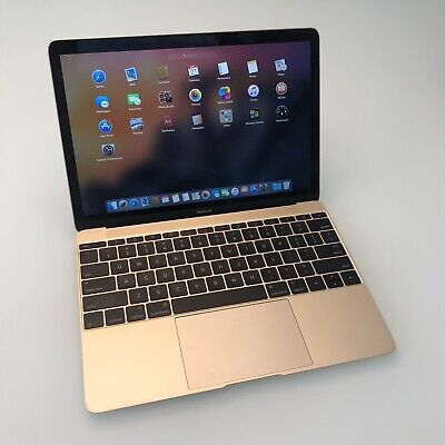 Apple MacBook 12 inch Laptop - MK4N2LL/A (2015) Color GOLD