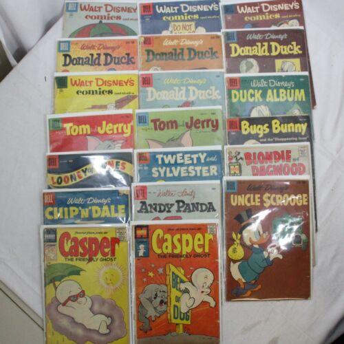 Dell Four Color Comics LOW Grade Walt Disney Donald Duck Bugs Casper