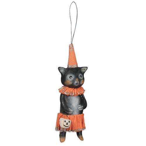 Bethany Lowe Michelle Allen Caterella Black Cat Halloween Retro Decor Ornament