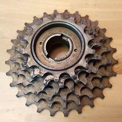 14x34 w//Brown Finish New-Old-Stock Suntour Perfect 6-Speed Freewheel