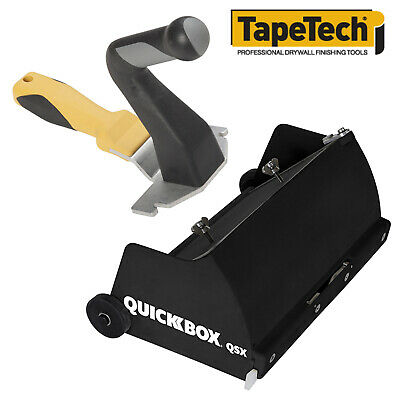 Tapetech Quickbox 8.5 Drywall Flat Finishing Box W Wizard Compact Handle