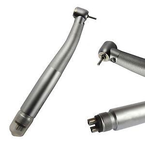 4Hole NSK Style Dental High Speed Handpiece LED Fibre optic Turbine PUSH BUTTON