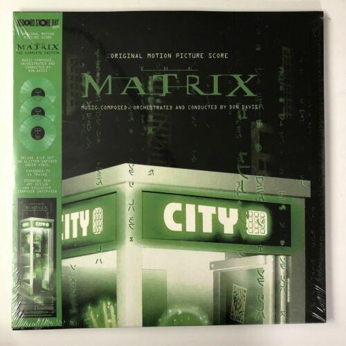 The Matrix Complete Edition Don Davis 2021 RSD LP Deluxe Green Vinyl Expanded
