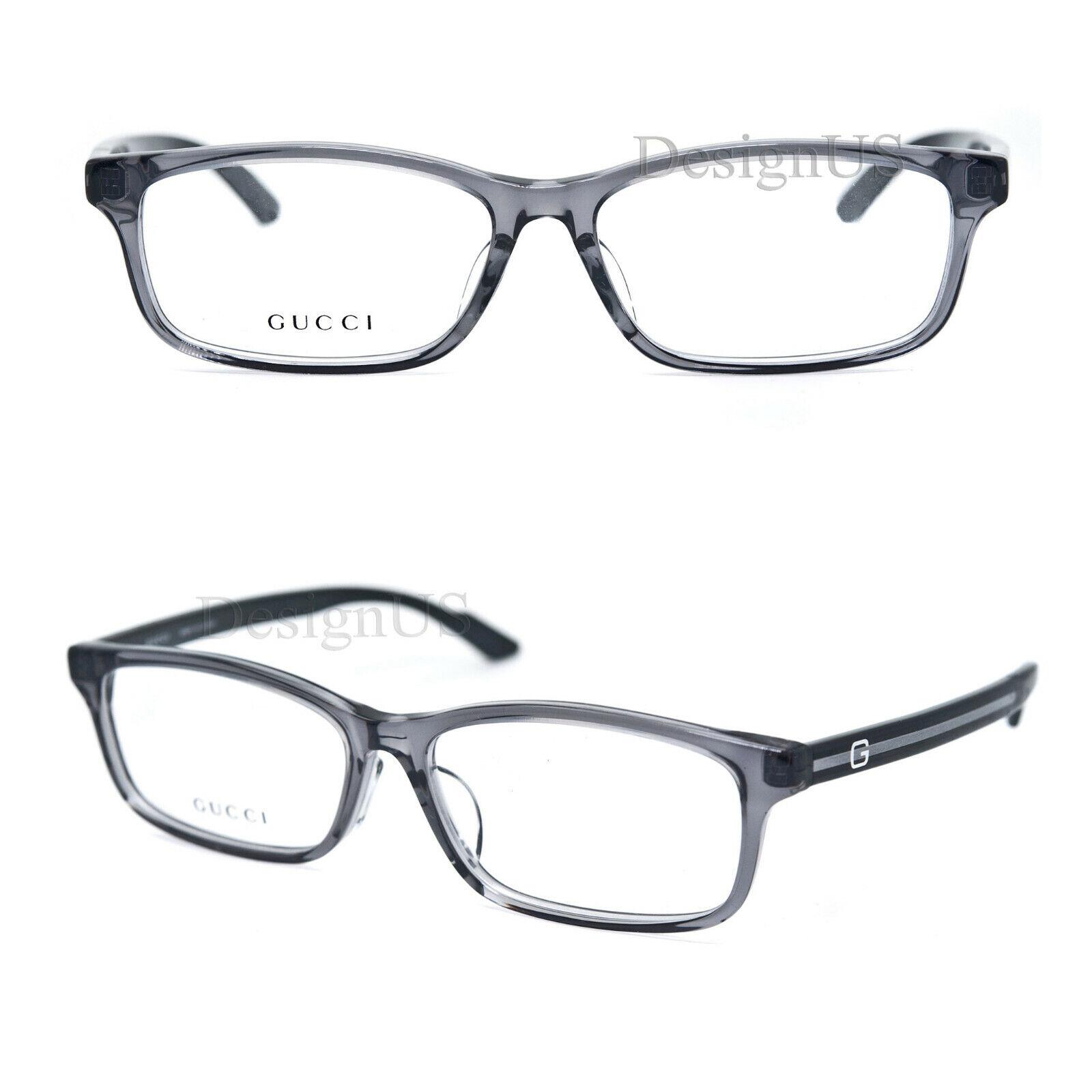 GUCCI GG-9091J 4AP Gray Transparent 55/15/140 Eyeglasses Rx