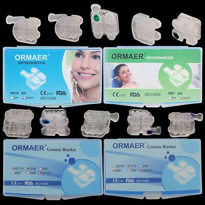Ormaer Dental Orthodontic Ceramic Brackets Brace 3m Style Roth Mbt 022018 3345