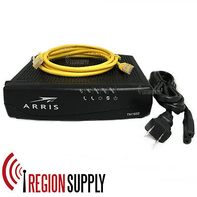 Arris Tm1602a Docsis 3 0 Telephony Cable Modem Approved For Optimum Cablevision