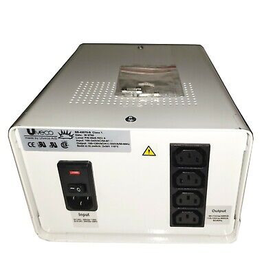 Ulveco Bb-40078-b Isolation Transformer 100-240v 400-500va 4-outlet