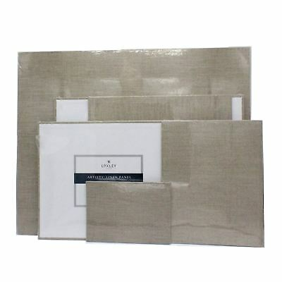 Loxley canvas board artist panel natural artists linen panel primed Canvas Board