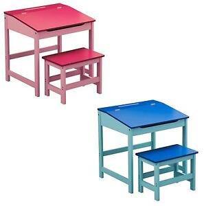 Childrens Wooden Desks