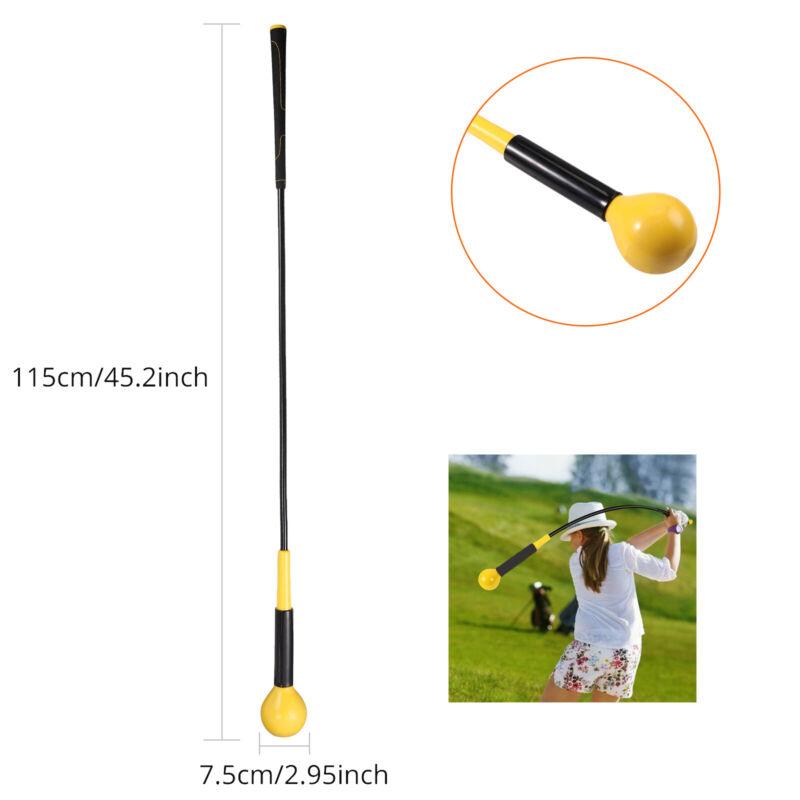 Golf Swing Trainer Warm Up Stick Power Strength Tempo Practice Flex Training Aid