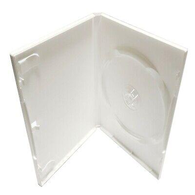 Standard Dvd Case - White - Premium - 10 Pack