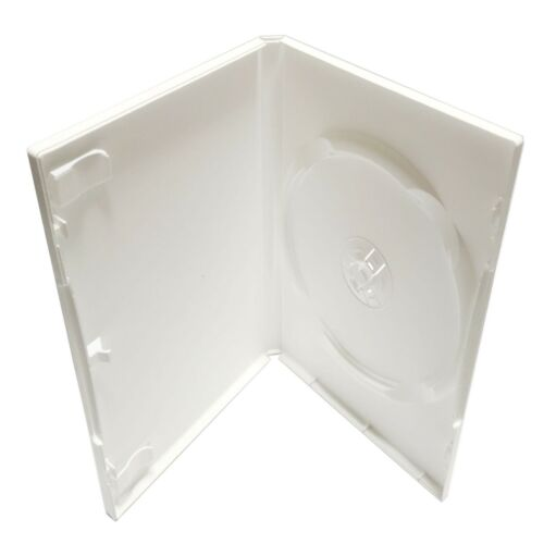 Standard  DVD Case - White - Premium - 25 Pack