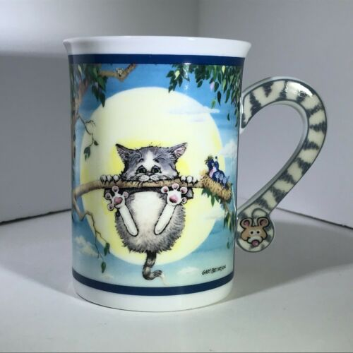 Danbury Mint Comical Cat Coffee Cups