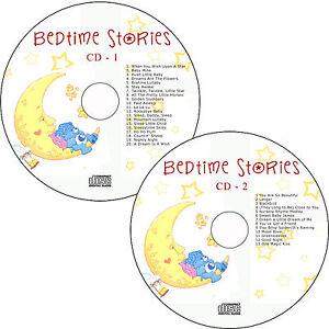 Children Classic Bedtime Songs/Lullabies Sleeptime Babies Kids Soothing 2 CD's