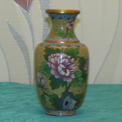 Vase in Cloisonne China