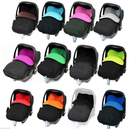 Universal Car Seat Footmuff/cosy Toes. Maxi Cosi Pebble Cabrio Fix Baby Newborn