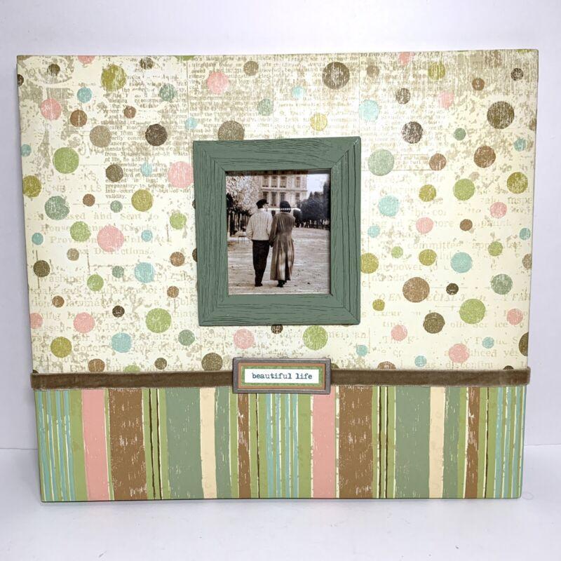 K & Company Scrapbook 12x12 Postbound Polka Dot Album New without box