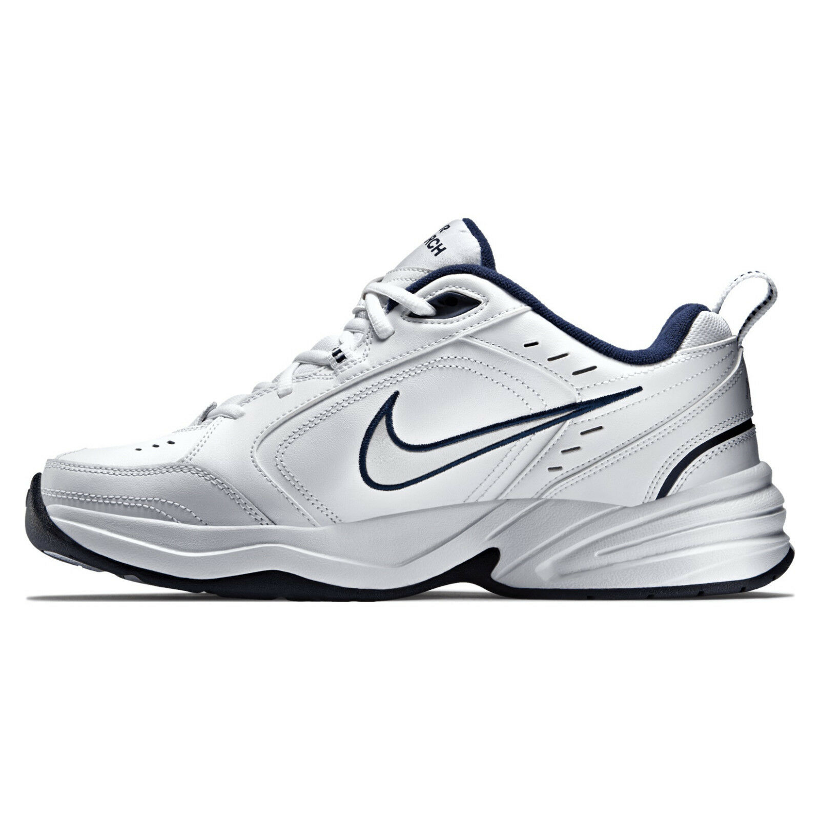 Nike Air Monarch IV Weiß Herren Lifestyle Sneaker Neu retro