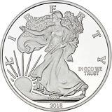 SPECIAL PRICE!! Silvertowne 2018 Silver American Eagle 5oz .999 Silver Medallion