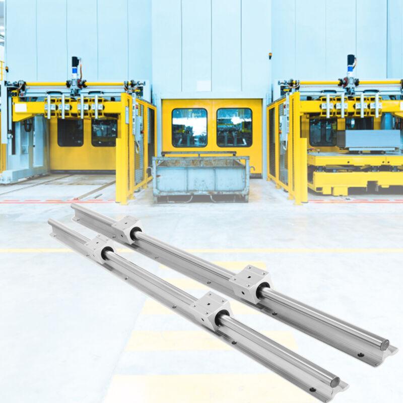 2X SBR16/SBR20 Fully Supported Linear Rail + 4X SBR16UU/20UU Slide Block Bearing