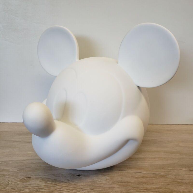Hallmark Disney Mickey Mouse Porcelain Lamp Excellent Condition - No Light Cord
