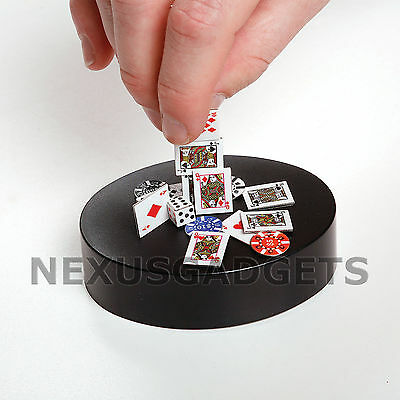 Phid Magnetic Poker Sculpture Office Desk Chips Cards Dice Executive Art Toy New