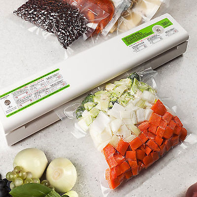 Home Saverlock Food Vacuum Sealer Machine S100 Low Noise System Gift Seal Bags