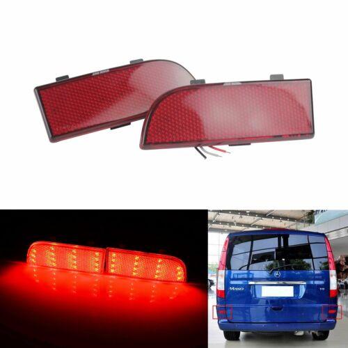 Ford Transit Van Custom Connect LED Heckstoßstange Reflektor Bremslicht Leuchte