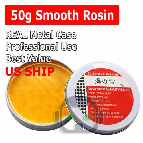 Smooth Rosin Soldering Flux Paste Solder Welding Grease 50 Gram US SHIP