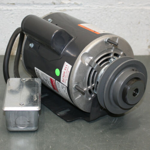 Dayton Electric Motor 1AGG1, 1/4 HP, 1725 RPM, 115/208-230V, 48Yz, from 2RB59