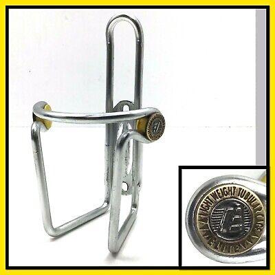 BLACK NOS Vintage Elite CIUSSI Alloy Retro Bicycle Water Bottle Cage