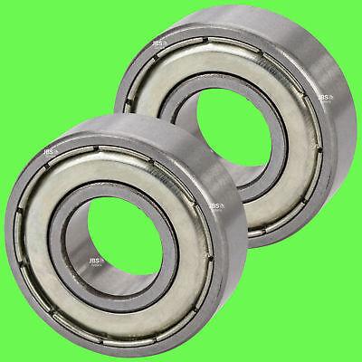 ► (2 Stück) 6206 ZZ Kugellager 30 x 62 x 16 mm Rillenkugellager für 30 mm Welle
