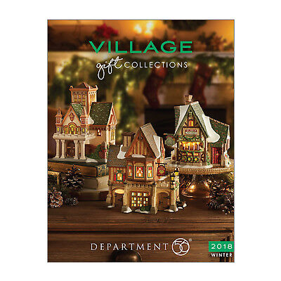 Department 56 2018 Catalog The Village Book NEW D56 134 pages NEW All Villages
