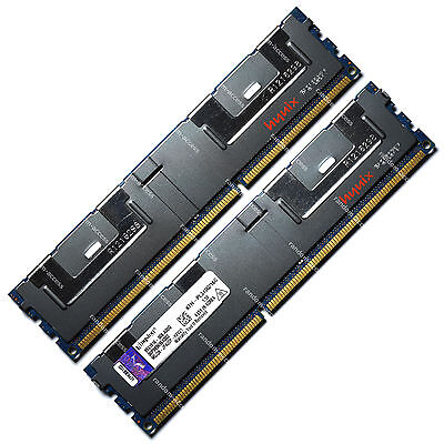 Kingston 64GB 4x16GB PC3-8500 4Rx4 DDR3-1066 ECC Registered 240-Pin Memory RAM