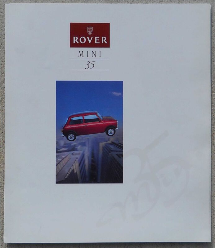 MINI 35 1994 colour brochure fold out - Mint